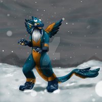 Daveita's First Snow by Takarti