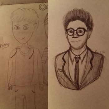 redraw | niall horan by Kittygoesrawrrr