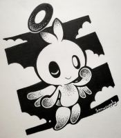 Hero Chao Inktober by Snowsupply