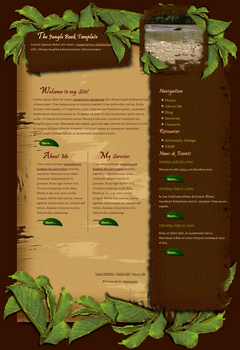 The Jungle Book Template by Solemnity111