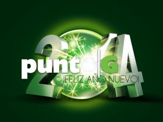 PUNTO G - HAPPY NEW YEAR CARD by Moniquiu