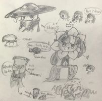 Pencil doodles  by shadowgirl211