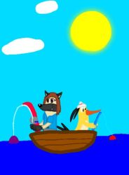 Saturday afternoon fishing by Beanie122001