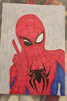 Spider-Man Birthday Card by PrincessFaeron