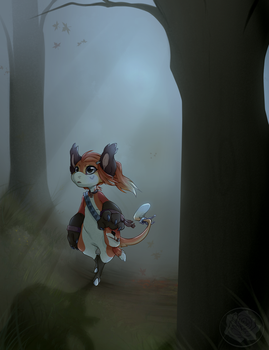 Lost Woods by 0Lau-Chan0