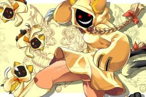 Blazblue: Kitty Litter Special by betrayal-and-wisdom