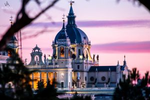 Almudena Cathedral, Madrid #2 by VitoDesArts