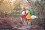 Nami and Carrot, Battle,One Piece Mink Arc Cosplay by firecloak