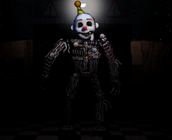 Commission: FNAF2 Ennard by Zacmariozero