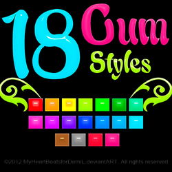 Gum Styles (Re-upload) by AnthonyGimenez