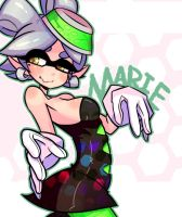 Splatoon Marie by TopDylan