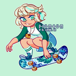 cool skater dude by p-l-u-m-b-u-m