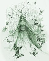 Willow Dryad by MisticUnicorn