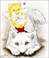 AT.:It comes from above:. by WhiteSpiritWolf