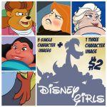 Disney Girls Image Pack by TubbyToon