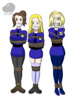 Lady Cops by Zoudai