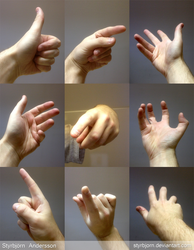 Hand References 1 by StyrbjornAndersson