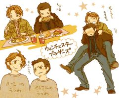 Winchester brothers by nako-2