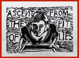 Ascent from the Pit of Lies by fleetofgypsies