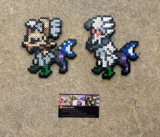 Null + Sivally - Pokemon Perler Bead Sprite