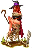 Dragon's crown Sorceress by Crew1