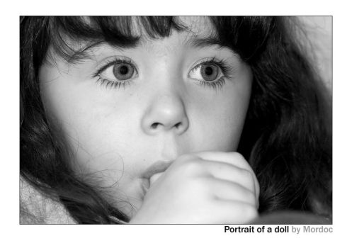 Portrait of a doll by mordoc