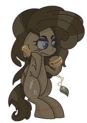 Hmph (Irlsona) by PonyPainterMaddie