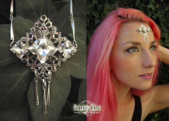 White Crystal Circlet by Firefly-Path