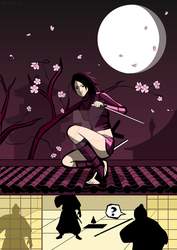 Ayame, The Shadow by killtheliights