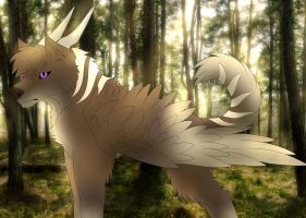 Aisher In The Forest by Redwolfless