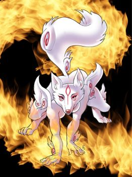 Ammy Burning by OneMillionMonsters