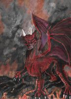 Rage of the Red Dragon by ravinsilverlock