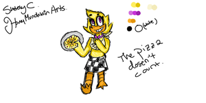 Chica colouring code by HoneyMunchkinArts