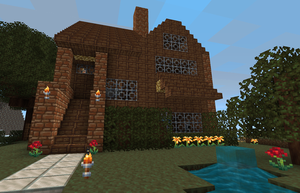 My house in Minecraft by Ferfer74