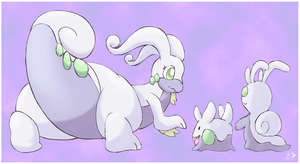 Goodra and family