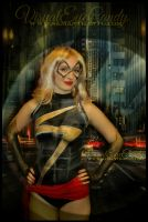 VisualEyeCandy Body Painted Miss Marvel by VisualEyeCandy