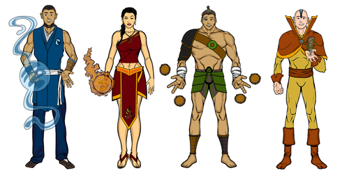 Bending Styles from Avatar by grego23