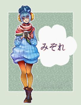 Animal Crossing - Gijinka: Wendy/Wolli by Cowslip