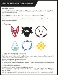 Rwby Emblem Commission Info by TheCipherNine