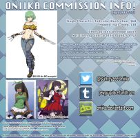 Commissioninfos by Oniika