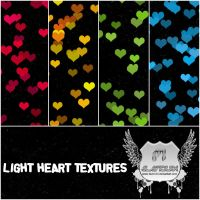 LIGHT HEART TEXTURES by favo123