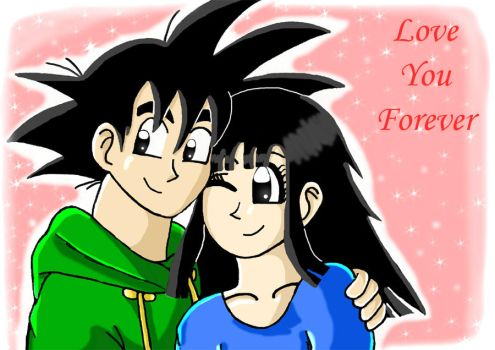 love you forever colour by dbzfannie