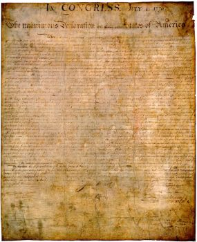 Declaration of independence origanal by Yamoto132