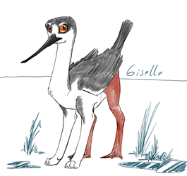 Giselle the Gryff by cheetahtrout