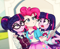 Selfie with the Twilights by Lucy-tan