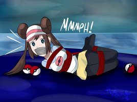 Pokemon - Rosa Lost at Sea by Zoudai