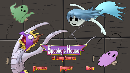 Let's Play : Spooky's House Of Jumpscares by InsaneSpyro