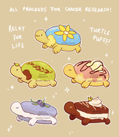 Turtlepuffs - CANCER CHARITY ADOPTS! (closed) by spaded-square