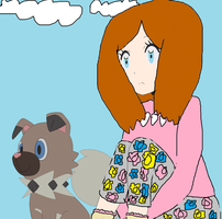 me and pebbles by akarifan25