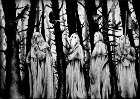 The Occult Forest by PriestofTerror